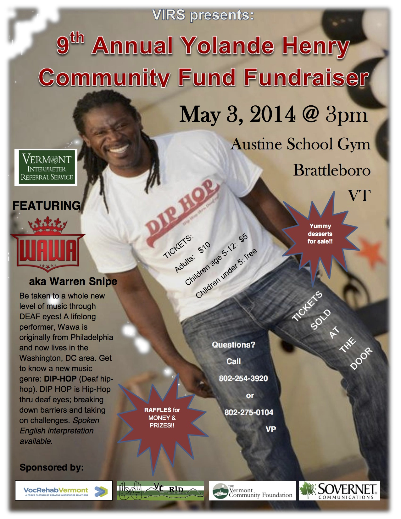 VIRS 9th Annual Community Fund Fundraiser